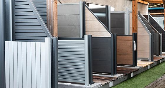 Gut gemocht Sichtschutz WPC, Holz, Kunststoff oder Glas für Garten & Terrasse OM91